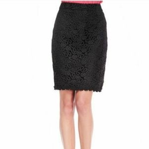 Kate Spade lace pencil skirt